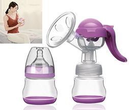 BTSHINE Breastfeeding Pump Manual Breastmilk Pump Hand Pump