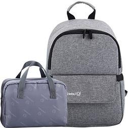 Breastmilk Cooler Backpack Handbag,LEKE Waterproof,Insulated
