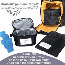 Zohzo Breastmilk Cooler Bag with Ice Pack - Insulated Breast