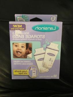 Lansinoh Breastmilk Storage Bags 50 Bags BPA BPS Free Pre St