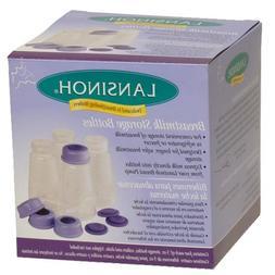 Lansinoh Breastmilk Storage Bottles, 5 oz, 4-Count Pack