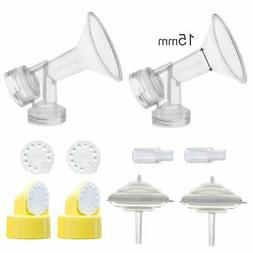 breastshields kit for medela freestyle pumps 15