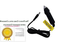 UpBright NEW Car 9V DC Adapter Replacement For All 9VDC 9 Vo