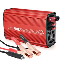 UFire 600W Car Power Inverter DC 12V to 110V AC Car Converte