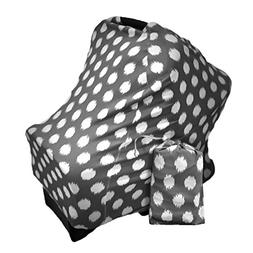 Baby Car Seat Canopy | Nursing Cover | Multi use 4-in-1| Str