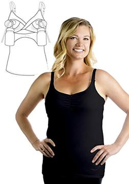 Classic Hands-Free Pump&Nurse all-in-one Nursing Tank with b