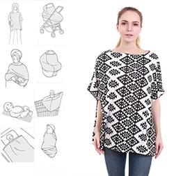 4-in-1 Nursing Top Cover: Soft And Breathable Breastfeeding