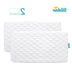 "Biloban Crib Mattress Protector Waterproof , for 52"" × 28"""
