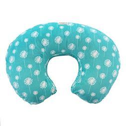 My Blankee Dandelion Minky Dot Nursing Pillow Slipcover, Tea