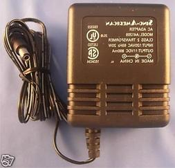 11 Volt DC, 800 mA Power Supply AC Adapter 8.8 W A41209