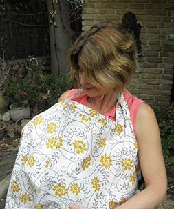 HOT DEAL!! Pack of 2 BreastFeeding Nursing Cover .100% Breat