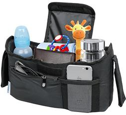 Deluxe Stroller Organizer Universal Fit for all Strollers Mu