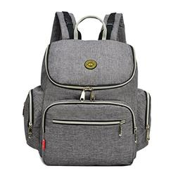 Baby Diaper Backpack Bag with Stroller Straps changing pad a