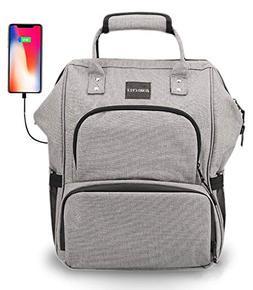 Diaper Bag Backpack Multi-Function Waterproof - Breast Pump
