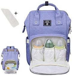 Baby Diaper Bag Backpack Multi-Function Waterproof Travel Na