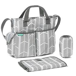 Diaper Bag by Bambini Me - Stylish, Functional Baby Stroller