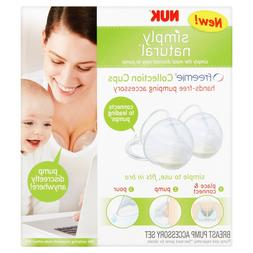 Discrete Breast Pump Simply Natural Freemie Collection Cups