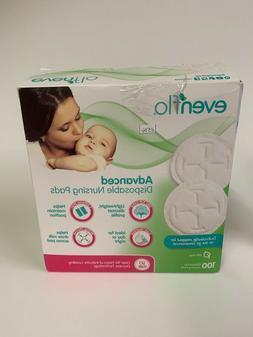 Evenflo Feeding Disposable Breast Pads for Nursing Women 100