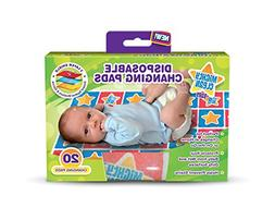 Incroyable Mighty Clean Baby Disposable Changing Pad   20 Ct