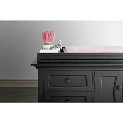 Eco Chic Baby Dorchester Changing Topper in Slate Finish by
