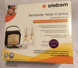 Medela Double Breast Pump Pump In Style Advanced Set Opened