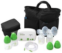 Premium Double Breast Pump W/ Shoulder Tote - Essential For