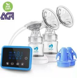 Bellababy Double Electric Breast Feeding Pumps Pain Free Str