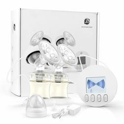 GLAND Double Electric Breast Pump, Breastfeeding Pump  Backf