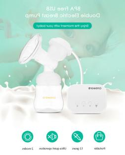 Double Electric Breast Pump Intelligent anti-back-flow Easy