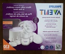 Philips Avent Double Electric Breast Pump SCF334/22 Brand Ne