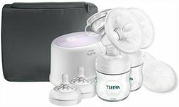 Philips Avent Double Electric Breast Pump, SCF334/22 NEW OPE
