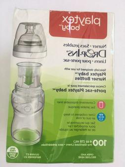 Playtex Drop in Liners for Nurser Bottles, 4 Ounce, 100 Coun