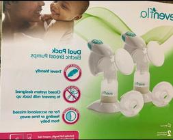 Evenflo Dual Pack Electric Breast Pumps Model 3045 *NEW FACT