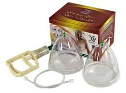 Dual Suction Cup Female Breast Pump Enlargement Bigger Breas