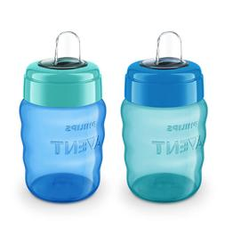 Philips Avent My Easy Sippy Cup, 9 Ounce, Blue/Green, Stage