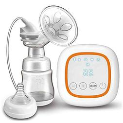 Electric Breast Pump with Petal Massage Pad, Comfort Breastm