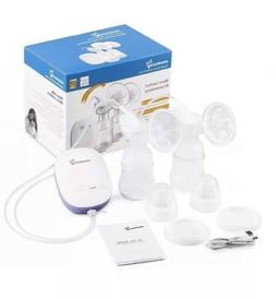 Momcozy Electric Breast Pump, Automatic Battery Powered Brea