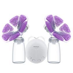KidsTime Electric Breast Pump Double Breast Pump hands-Free