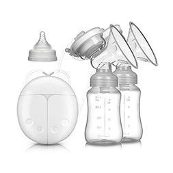 Electric Intelligent Breast Pump, BPA-Free USB Dual Breast P