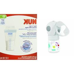 NUK Expressive Single Electric Breast Pump and Seal N Go Bre