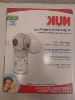NUK Expressive Single Electric Breast Pump & Accessories New