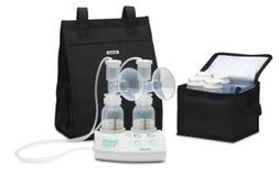 Ameda Finesse Double Electric Breast Pump With Minnie Tote 1