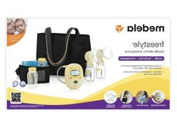 freestyle breast pump deluxe set double breast