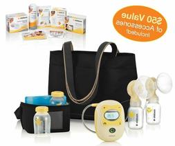 Medela Freestyle Mobile Double Electric Breast Pump, Hands F