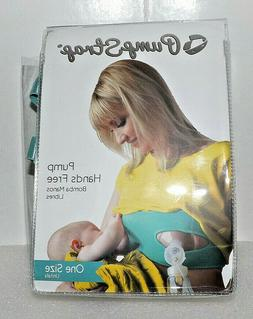 Pump Strap - Hands Free Breastpump Pumping Bra - Turquoise -
