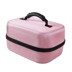 Hard EVA Travel Pink Case for Spectra Baby USA S2 Double / S