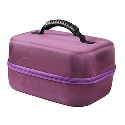 Hermitshell Hard EVA Travel Purple Case Fits Spectra Baby US
