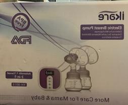IKARE Hospital Grade Double Breast Pump Electric Portable -U