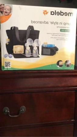 in style advanced double electric breast pump