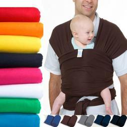 94bab40d7c1 Infant Newborn Kid Baby Carrier Sling Swaddle Wrap Cotton Br